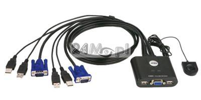 Przełącznik sygnału VGA między dwoma urządzeniami