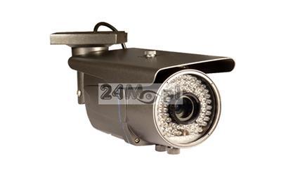 Zewnętrzna kamera FULL HD 4 w 1 - obsługa standardów AHD, CVI, TVI i CVBS, 72 diody podczerwieni 940 nm [NIE żarzą się], regulowany obiektyw 2,8 - 12 mm