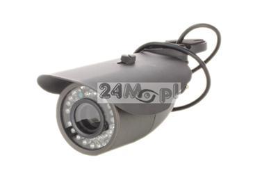 Kamera 4 w 1 - AHD / CVI / TVI / analogowa z wygodnym przełącznikiem trybu pracy na joysticku, przetwornik SONY FULL HD, 36 diod IR, obiektyw 2,8 - 12 mm