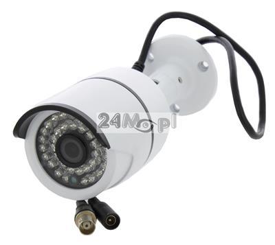Kamera 4 w 1 - obsługa trybów AHD, CVI, TVI i CVBS, rozdzielczość FULL HD, szeroki kąt widzenia, 36 diod podczerwieni, IP66