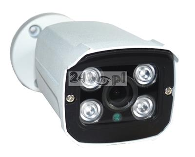 Zewnętrzna kamera FULL HD 4 w 1 - kompatybilna z systemami AHD, CVI, TVI i CVBS, nowoczesna podczerwień ARRAY LED, szeroki kąt widzenia, podczerwień ARRAY LED