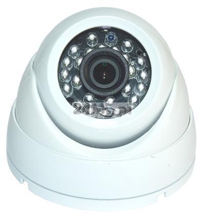 Zewnętrzna kamera do monitoringu wizyjnego - 4 w 1 (AHD, CVI, TVI i CVBS), szeroki kąt widzenia, 24 diody podczerwieni, norma szczelności IP66