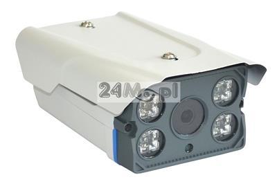 Zewnętrzna kamera FULL HD (1080P) - współpraca z rejestratorami AHD, CVI, TVI i CVBS, szeroki kąt widzenia, nowoczesna podczerwień ARRAY LED, hermetyczna obudowa (IP66)