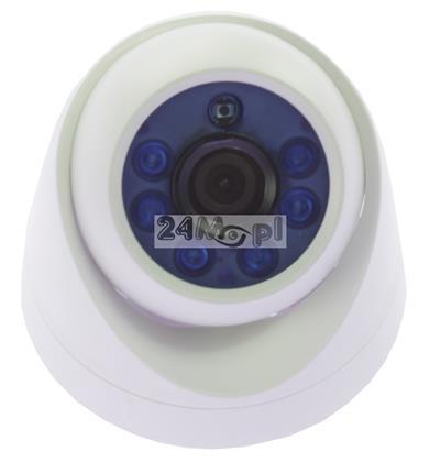 Wewnętrzna kamera FULL HD 4 w 1 - działa z systemami AHD, CVI, TVI i CVBS, bardzo szeroki kąt widzenia, nowoczesna technologia podczerwieni
