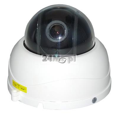 Obrotowa kamera wewnętrzna z 4-krotnym ZOOM-em optycznym - markowe podzespoły SONY i NEXTCHIP, doskonałej jakości materiał video gwarantowany