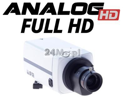Wewnętrzna, kompaktowa kamera AHD FULL HD - obiektyw 3,5 - 8 mm z funkcją AUTO-IRIS, jakość SONY, MENU ekranowe