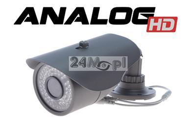 Kamera wykonana w technologii AHD [Analog HD] - SONY 1.3 MPX, HD [1280 x 720], dzień/noc, monitoring analogowy - JAKOŚĆ CYFROWA