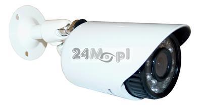 Zewnętrzna MINI kamera AHD - 24 zintegrowane diody podczerwieni, szeroki kąt widzenia [ok. 70 stopni], metalowa, hermetyczna obudowa [IP66]
