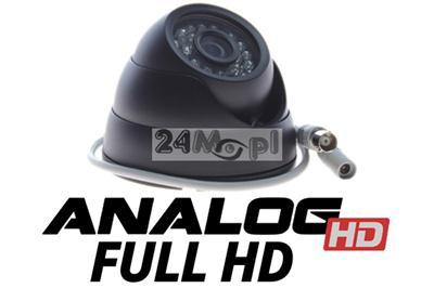 Zewnętrzna kamera AHD FULL HD w solidnej, kopułkowej obudowie - przetwornik SONY EXMOR, KOREAŃSKI procesor Nextchip, szeroki kąt, 24 diody IR