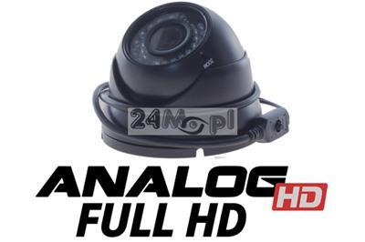 Zewnętrzna kamera Analog HD w obudowie kopułkowej - jakość FULL HD, markowy przetwornik SONY EXMOR, regulowany obiektyw, 36 diod IR