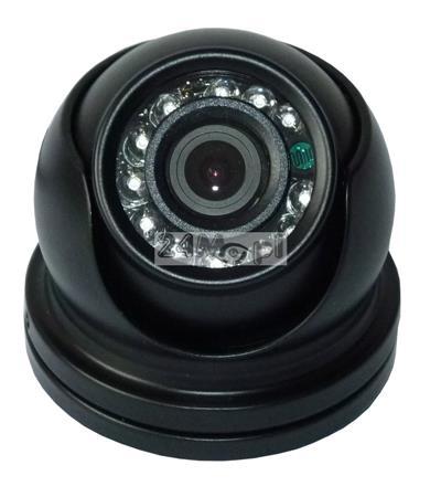 Miniaturowa kamera zewnętrzna HD (720P) - szeroki kąt widzenia (ok. 90 stopni), model 4 w 1 (AHD, CVI, TVI, CVBS), 12 diod podczerwieni, MENU ekranowe