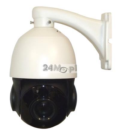 Szybkoobrotowa kamera AHD do monitoringu zewnętrznego - jakość FULL HD (1080P), 18 x ZOOM optyczny, zasięg widzenia w nocy do 80 metrów, funkcja zabezpieczenia przeciwprzepięciowego