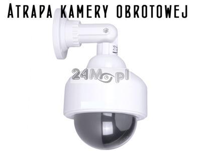 Atrapa kamery obrotowej PTZ do zastosowań wewnętrznych i zewnętrznych