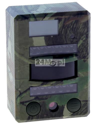 Kamera leśna - fotopułapka HD, diody podczerwieni, czujnik ruchu PIR, tryb FOTO i VIDEO, zapis na karcie microSD (do 32 GB)