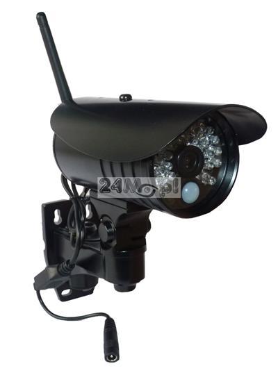 Zewnętrzna kamera IP HD, 36 diod podczerwieni, szeroki kąt widzenia - obsługa przez telefon / tablet [Android lub Apple iOS], polskojęzyczne MENU