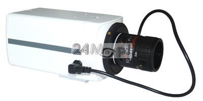 Wewnętrzna kamera kompaktowa 4 MPX - przetwornik SONY, regulowany obiektyw 3,5 - 8 mm z funkcją AUTO-IRIS, idealne rozwiązanie do monitoringu sklepów, biur i magazynów