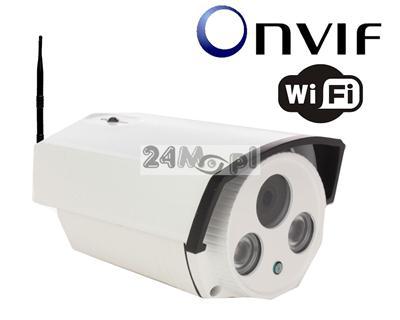 Zewnętrzna megapikselowa kamera IP WiFi - 1/3 Multi Megapiksel SONY, 2 diody ARRAY LED, obiektyw z funkcją AUTO-IRIS