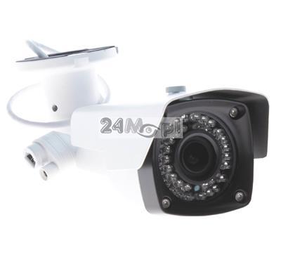 4 - megapikselowa kamera zewnętrzna, przetwornik SONY, 42 diody podczerwieni, regulowany obiektyw 2,8 - 12 mm, opcja zasilania PoE