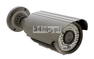 4 - megapikselowa kamera IP, przetwornik SONY EXMOR, regulowany obiektyw 2,8 - 12 mm, 72 diody IR, IP66, pełny dostęp zdalny przez komputery, telefony i tablety