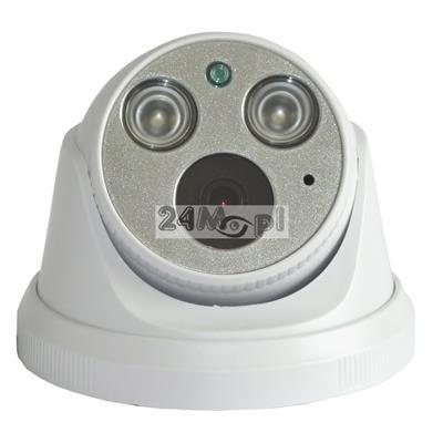 Wewnętrzna kamera IP 4 MPX z wbudowanym modułem PoE - przetwornik SONY, szeroki kąt widzenia, podczerwień ARRAY LED, standard ONVIF