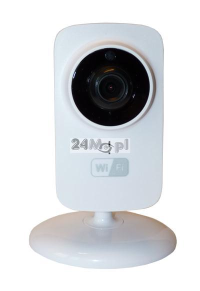 720P [HD] - wewnętrzna kamera IP WiFi, 10 diod IR, szeroki kąt widzenia, P2P (praca w chmurze), dostęp zdalny przez telefony i tablety