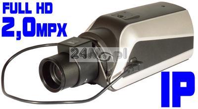 JAKOŚĆ FULL HD - MEGApikselowa kamera IP, wewnętrzna, rozdzielczość 1920x1080, ONVIF