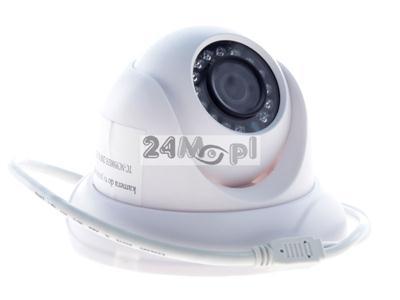 1080P [2 MPX] - wewnętrzna kamera IP FULL HD, standard ONVIF, szeroki kąt widzenia [90 stopni], zasilanie PoE, 15 diod IR