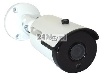 Zewnętrzna kamera IP 720P (HD) z szerokim kątem widzenia - podczerwień na 25 metrów, pełny dostęp zdalny za pomocą komputerów, telefonów i tabletów, praca w chmurze (P2P)
