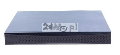 16 - kanałowy rejestrator do kamer IP ONVIF - rozdzielczość FULL HD, polskie MENU, dostęp zdalny przez laptopy/telefony i tablety [Android i Apple iOS]