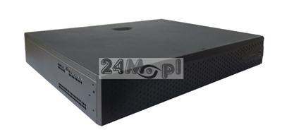 40 - kanałowy rejestrator do kamer IP - obsługa rozdzielczości 5 MPX, 4 MPX, 3 MPX, FULL HD i niższych, VCA (inteligentna analiza obrazu), pełny dostęp zdalny, praca w chmurze (P2P)