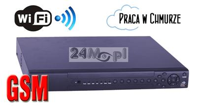 Profesjonalny, 32 - kanałowy rejestrator cyfrowy do kamer IP - obsługa rozdzielczości 1,3MPX, 2MPX, 3MPX oraz 5MPX, P2P