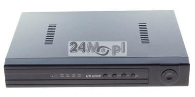 8 - kanałowy rejestrator cyfrowy do kamer IP - obsługa rozdzielczości HD [720P] i FULL HD [1080P], płynny ruch, polskie MENU, P2P [praca w chmurze]