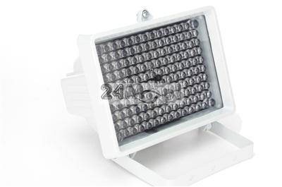 Zewnętrzny doświetlacz podczerwieni - zasilanie 12V, zasięg do 150 metrów, IP66