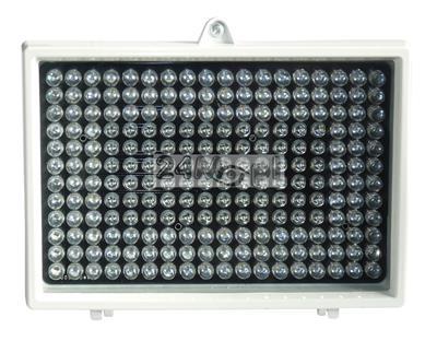 Zewnętrzny doświetlacz podczerwieni na 12V - 216 diod o zasięgu 200 metrów, IP66 [hermetyczna obudowa]