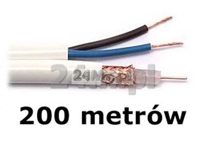 Kabel do tv przemysłowej - rolka 200m