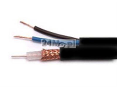 Kabel koncentryczny z żyłami zasilającymi do instalacji w ziemi