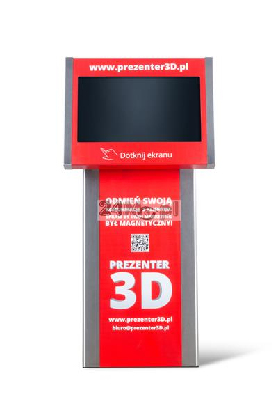 Kiosk multimedialny [totem] z prezentacjami 3D - made in Poland!