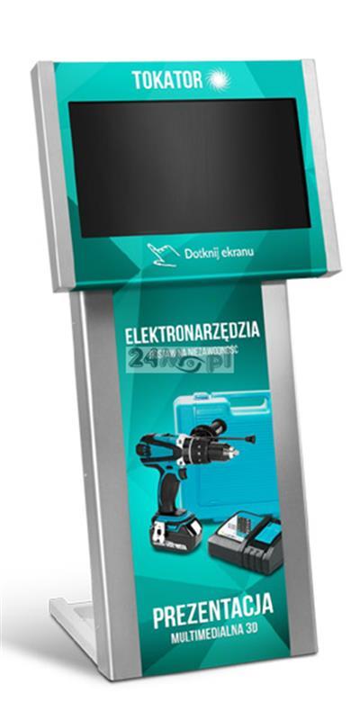Totem multimedialny z ekranem dotykowym FULL HD - wyróżnij się na tle swojej konkurencji!