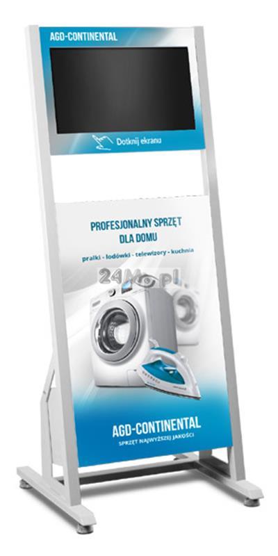 Infokiosk multimedialny z dotykowym ekranem - pełna personalizacja obudowy!