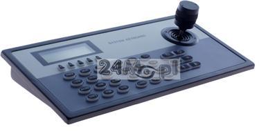 Klawiatura sterująca 3D DUALNA - do kamer i rejestratorów IP z ONVIF oraz kamer i rejestratorów analogowych