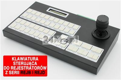 Profesjonalna klawiatura sterująca do rejestratorów z serii B, D i kamer obrotowych