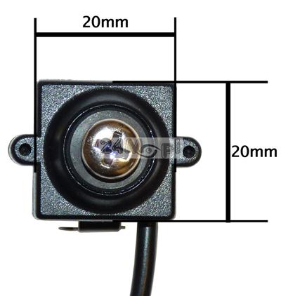 Mikrokamera ukryta w śrubce, audio