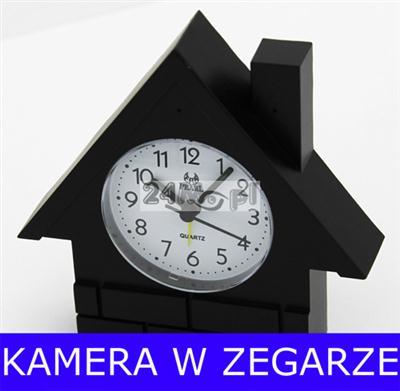 Kamera ukryta w zegarze wolnostojącym, 420TVL, CCD SONY