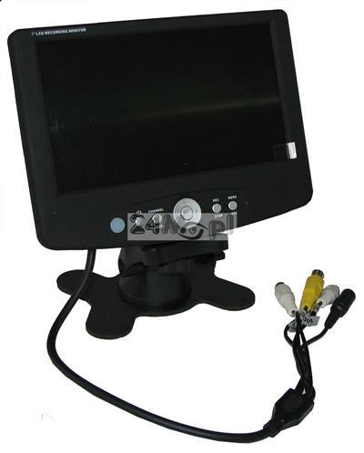 Rejestrator miniaturowy na karty SD z wyświetlaczem LCD