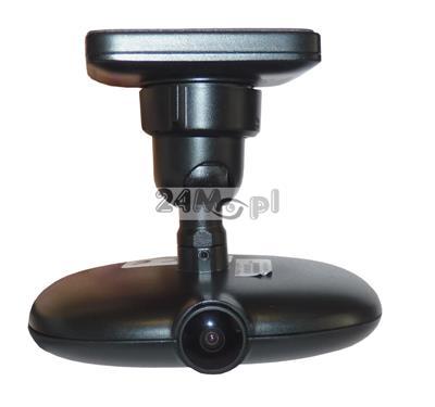 Rejestrator mobilny do monitoringu pojazdów - 1 wbudowana kamera [z opcja rozbudowy o kolejną], rozdzielczość FULL HD, wbudowany moduł GPS oraz WiFi, opcja podglądu zdalnego na żywo