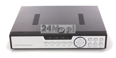 4 - kanałowy rejestrator hybrydowy - do kamer AHD FULL HD oraz IP, standrad ONVIF, polskie MENU, pełny dostęp zdalny przez telefony i tablety