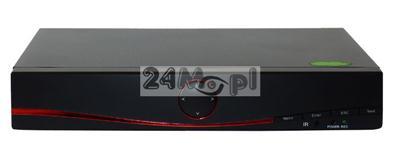 16 - portowy rejestrator do kamer AHD [w wersji HD - 720P oraz FULL HD - 1080P], IP [obsługa kamer do 5 MPX] oraz analogowych
