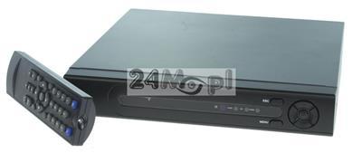 16 - kanałowy rejestrator hybrydowy do kamer AHD, IP i analogowych - obsługa rozdzielczości do 5 MPX, polskojęzyczne MENU, pełny dostęp zdalny przez komputery, tablety i smartfony, technologia P2P [ch