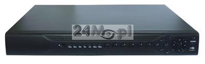 Rejestrator do kamer AHD, CVI, TVI i analogowych [CVBS] - rozdzielczość do 5 MPX, płynny ruch, MENU w języku polskim, pełny dostęp zdalny przez Internet, praca w chmurze (P2P)