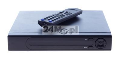 Hybrydowy rejestrator cyfrowy - do kamer AHD, analogowych i IP - pełny dostęp zdalny, intuicyjne MENU, pilot i mysz GRATIS